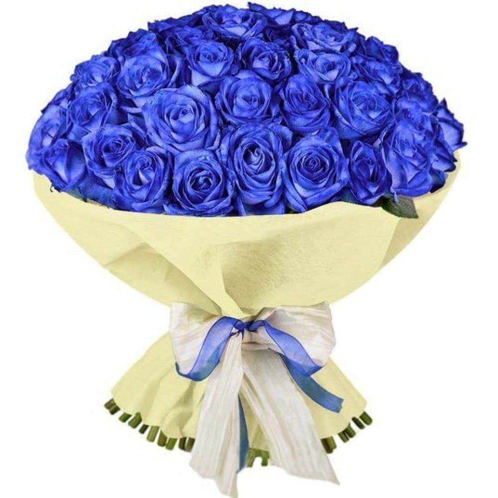 Фото цветов букетов роз синих