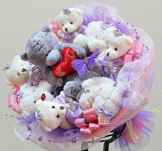 Заказать букет из игрушек минск купить бумажные цветы для скрапбукинга оптом