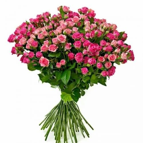 """Букет из кустовых роз """"Франсуаза"""""""