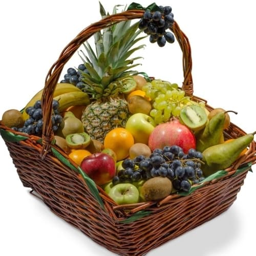 """Подарочная корзина с фруктами """"Витаминный микс"""""""