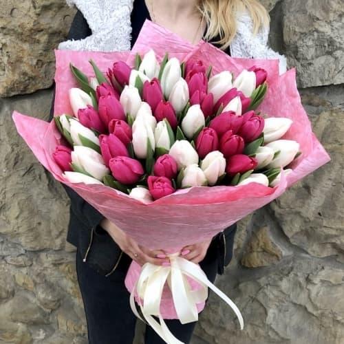"""Букет тюльпанов """"Алиса"""""""