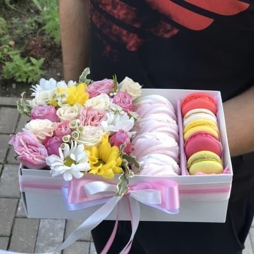 Цветы и сладости №2