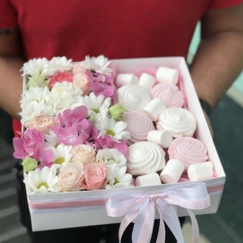 Цветы и сладости №3