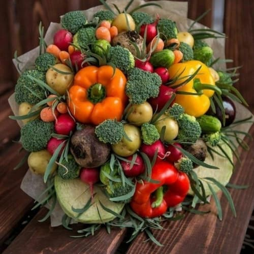 Букет из овощей №7