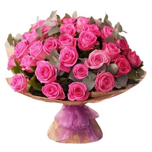 """Букет из розовых роз """"Шерил"""""""
