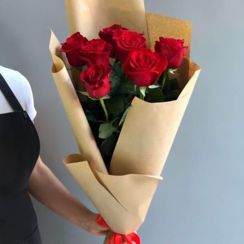 """Букет из красных роз """"Рита"""""""