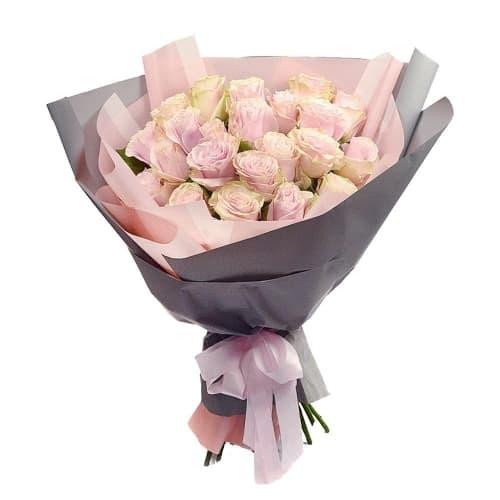 """Букет из розовых роз """"Барбара"""""""