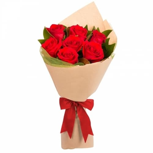 """Букет из красных роз """"Эшли"""""""