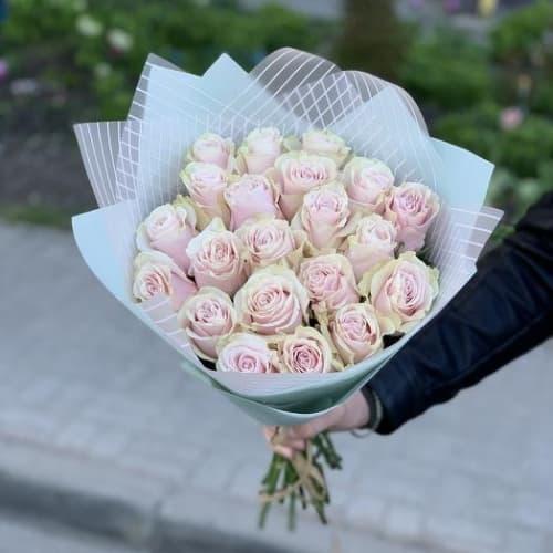 """Букет из розовых роз """"Пени"""""""