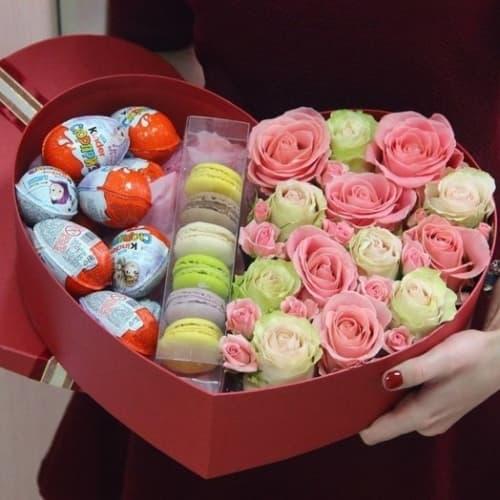 Цветы и сладости №11