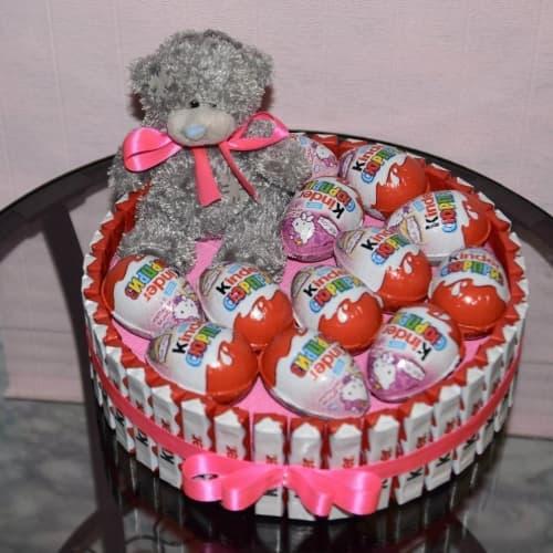 Фото торт сладкий подарок