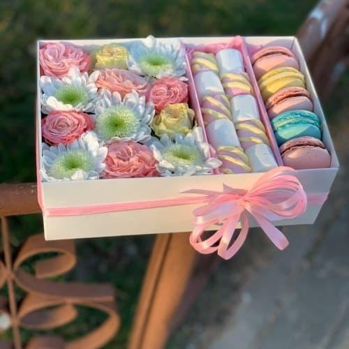 Цветы и сладости №22