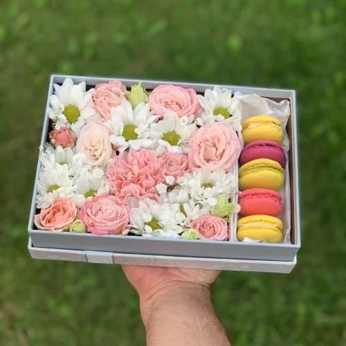 Цветы и сладости №23