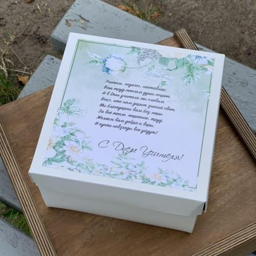 Цветы и сладости на День Учителя №1