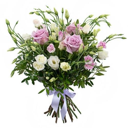 """Букет из роз и альстромерий """"Мелисса"""""""