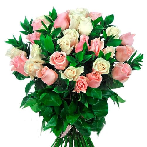 """Букет из 27 роз """"Элеонора"""""""