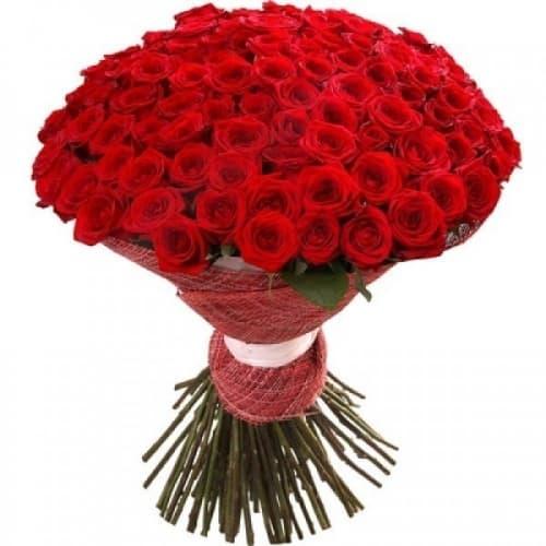 """Букет из 101 розы """"Каллиопа"""""""