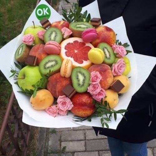 """Букет из фруктов """"Яркого и сладкого дня!"""""""