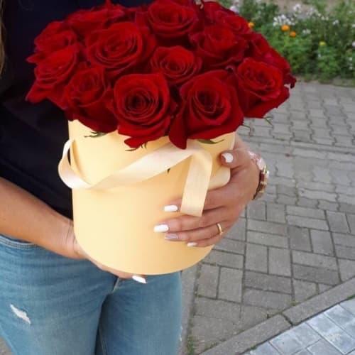 "Розы цилиндре ""Селеста"""