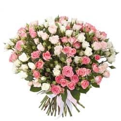 """Букет из кустовых роз """"Динара"""""""