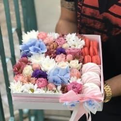 Цветы и сладости №1