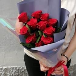 """Букет из красных роз """"Келли"""""""