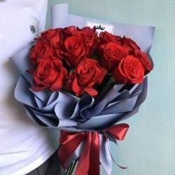 """Букет из красных роз """"Мэри"""""""
