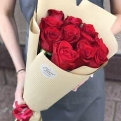 """Букет из красных роз """"Джейн"""""""
