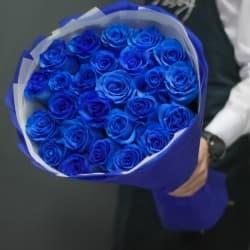 """Букет из синих роз """"Эстер"""""""