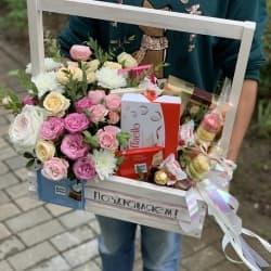 Цветы и сладости №33