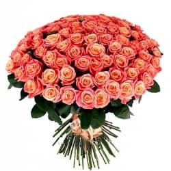 """Букет из 101 розы """"Кайли"""""""